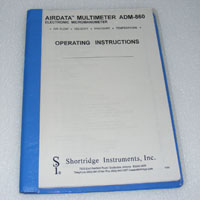airdata multimeter adm 860c manual